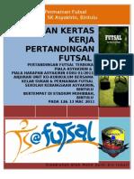 Kertas Kerja Futsal 2011(Terbuka)