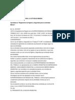 Decreto N°249_2007_actividad_minera