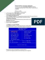 Como Instalar Windows 7 (fORMATEAR