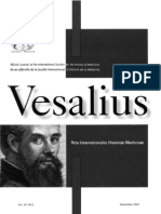 "New Spanish facsimile poetry work by  Servetus ""Portraits or figures from the stories of the Old Gospel. Spanish Summary"" reviewed by the president of the ISHM, in Vesalius Journal."