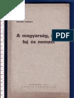 Csuray Károly -  A magyarság mint faj és nemzet 1935.