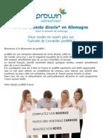 Info Recrutement Prowin 2012 Ss