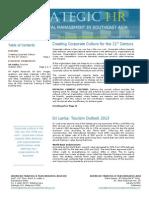 Strategic HR September 2012