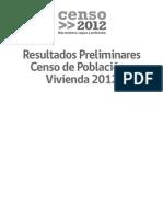 Resultados preliminares Censo 2012