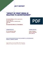 Effect of Print Media