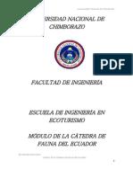 Modulo Fauna Del Ecuador