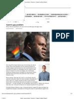 Hynes James Richardon Homophobia