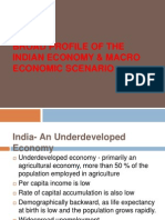 Broad Profile of the Indian Economy & Macro