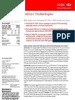 Infosys Tech - HSBC - Buy - Oct 2010
