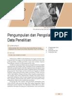 4. Pengumpulan Dan Pengolahan Data Penelitian