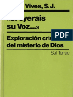 Vives, Josep - Si Oyerais Su Voz