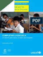 Informe Unesco Unicef Ago 2012