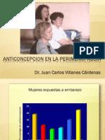 Anticoncepcion en Perimenopausia