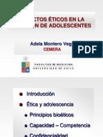 Aspectos éticos en la atención de adolescente en Salud Sexual y Reproductiva