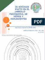 Cambios sociales y el impacto en el desarrollo psicosocial de niños y adolescentes