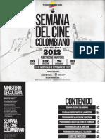 Semana del cine colombiano 2012