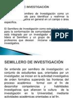 CONCEPTUALIZACIÓN SEMILLERO DE INVESTIGACIÓN