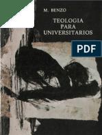 Benzo Mestre, Miguel - Teologia Para Universitarios