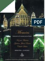 Memoirs-Baba Ghulam Jilani