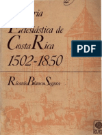 Blanco Segura, Ricardo - Historia Eclesiastica de Costa Rica (1902 1850)