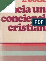 Boeckle, Franz - Hacia Una Conciencia Cristiana