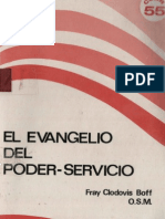 Boff, Clodovis - El Evangelio Del Poder Servicio