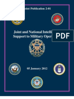 Joint and National Intelligence Support to Military Operations