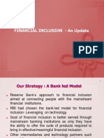 Finance Inclusion RBI
