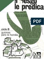 Borobio, Dionisio - El Riesgo de Predicar (b)