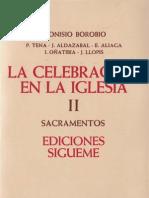 Borobio, Dionisio - Los Sacramentos