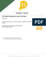 Boyd - The Tragic Evolutionary Logic of the Iliad