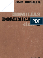 Burgaleta, Jesus - Homilias Dominicales Ciclo b