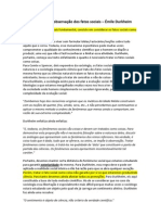 Regras relativas à observação dos fatos sociais (resumo)