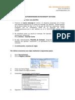 Configuracion de Autoresponder en Microsoft Outlook