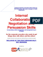 Internal Collaboration, Negotiation, Conflict Mgmt Edoc