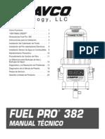 F1272SPAN Manual Technico FP382 Espanol