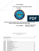 DARPA 2009 Budget includes 'Silent Talk' Mind reading project, remote EEG (Electroencephalography) / MEG (Magnetoencephalography)