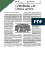 A Importancia Das Patentes Verdes