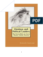 Monkeys and Political Leaders – The Seven Rules to Every Human-Simian Society