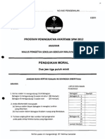 2012 PSPM Kedah Moral w Ans