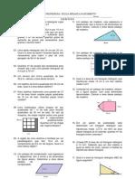 LISTA 1 - Exercicios de Geometria Plana