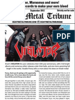 Heavy Metal Tribune issue 2 (September 2012)