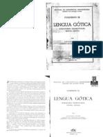 Antonio Tovar - Lengua Gótica