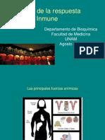 Células en la respuesta Inmune Innata