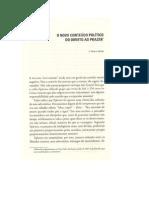 O Novo Conteudo Político do Direito ao Prazer - Leandro Konder