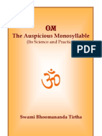 Om Auspicious Monosyllable