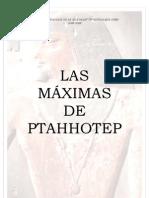 Las Maximas de Ptahhotep