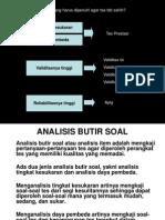 Analisis Butir Soal - Presentation