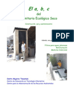 El a, b, c del Sanitario Ecológico Seco Construcción, uso y mantenimiento