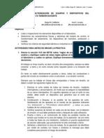 CARACTERIZACIÓN DE EQUIPOS Y DISPOSITIVOS DEL LABORATORIO DE ALTA TENSIÓN DOCENTE
